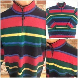 90's Vintage Aztec Indian Color Block Sweatshirt
